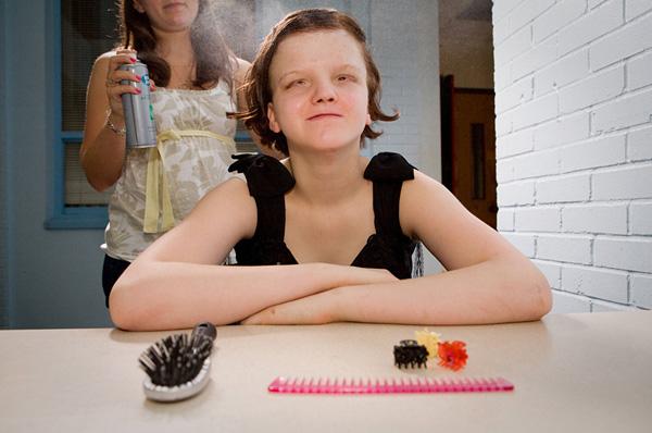 Sarah Wilson摄影作品:盲人们的毕业舞会4
