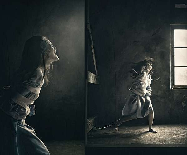 Dikky Photogrepe作品:精神病患日记1