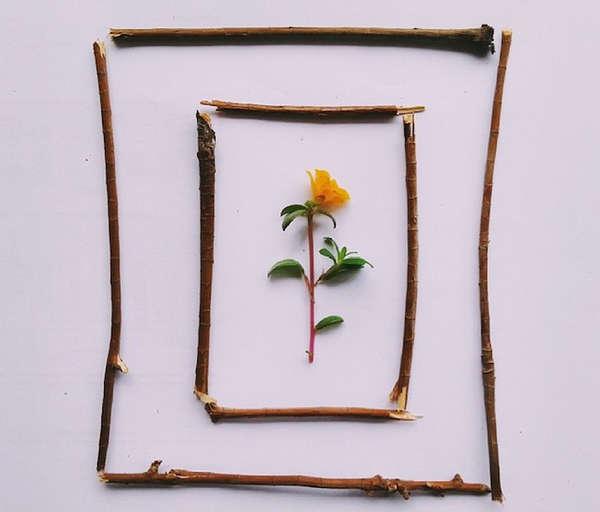 Instagram创意图片框架摄影作品集2