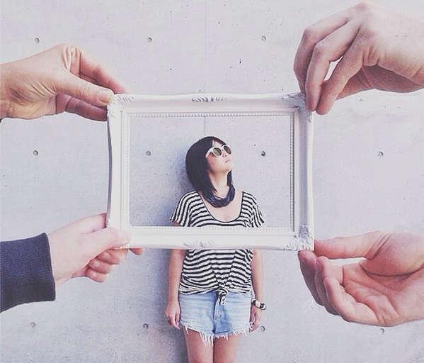 Instagram创意图片框架摄影作品集4
