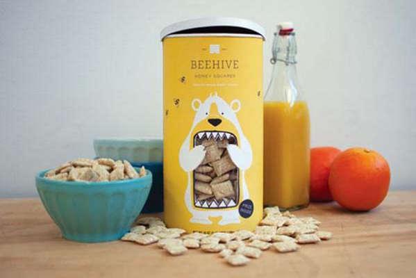 25个极具创意的产品包装设计欣赏-饼干和熊