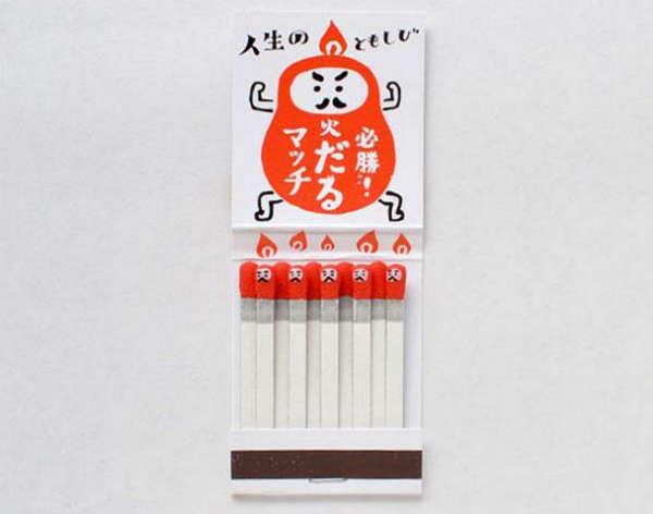 25个极具创意的产品包装设计欣赏-励志火柴盒包装