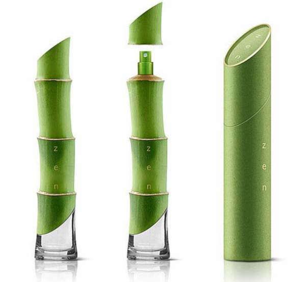 25个极具创意的产品包装设计欣赏-竹子香水包装