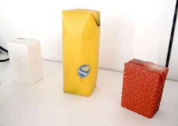 25个极具创意的产品包装设计欣赏-水果饮料包装