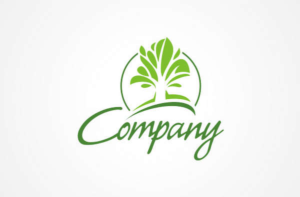 15个有关树的绿色环保LOGO标识设计欣赏3