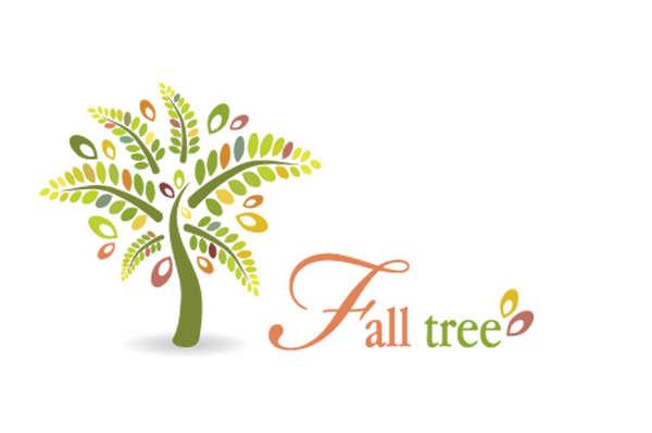15个有关树的绿色环保LOGO标识设计欣赏9