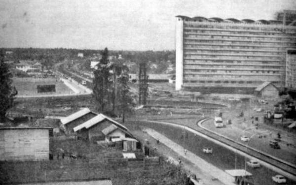 世界景观之城市的时代变迁图集-印尼雅加达1960