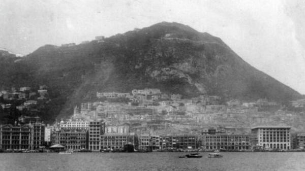 世界景观之城市的时代变迁图集-中国香港-1928