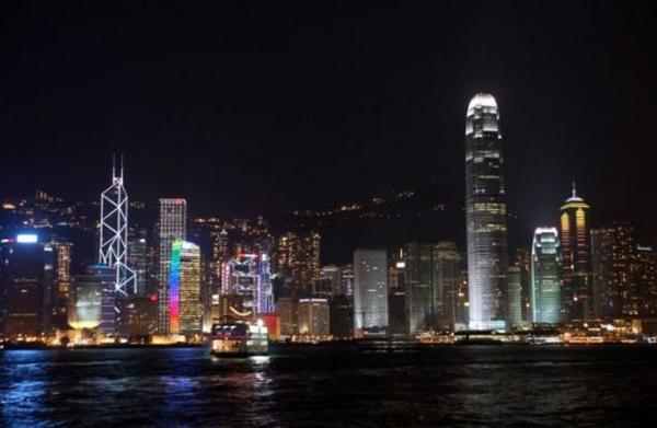 世界景观之城市的时代变迁图集-中国香港-2014年