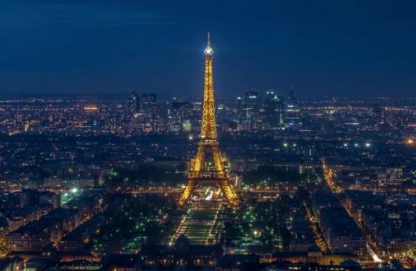 世界景观之城市的时代变迁图集-巴黎2014年