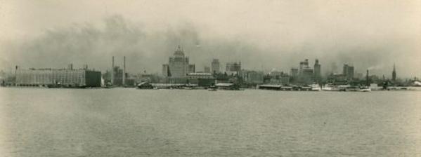 世界景观之城市的时代变迁图集-多伦多1930年