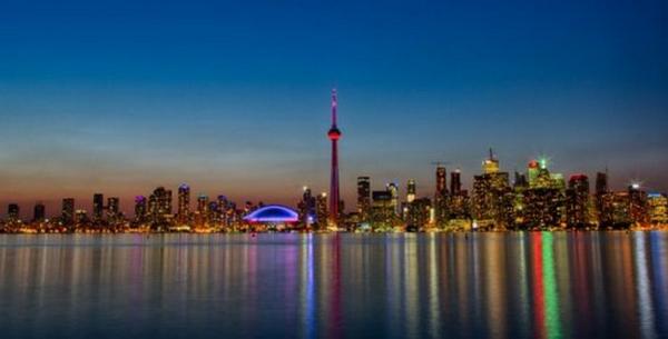 世界景观之城市的时代变迁图集-多伦多2013年