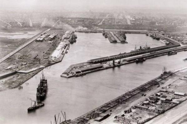 世界景观之城市的时代变迁图集-墨尔本1920年