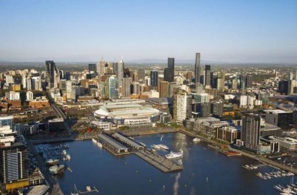 世界景观之城市的时代变迁图集-墨尔本2011年