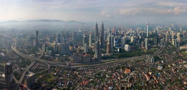 世界景观之城市的时代变迁图集-吉隆坡2014年