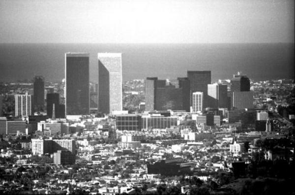 世界景观之城市的时代变迁图集-美国洛杉矶1970