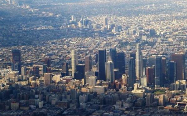 世界景观之城市的时代变迁图集-美国洛杉矶2014