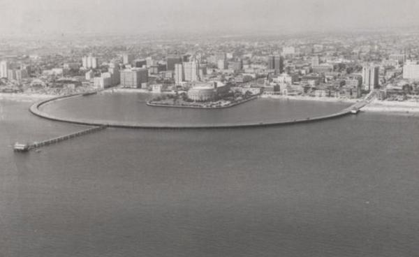 世界景观之城市的时代变迁图集-美国长滩市1953年