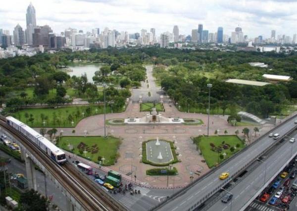 世界景观之城市的时代变迁图集-泰国曼谷2007年