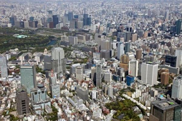 世界景观之城市的时代变迁图集-日本东京2011年