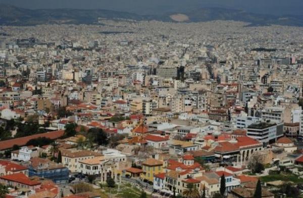 世界景观之城市的时代变迁图集-希腊雅典2014年