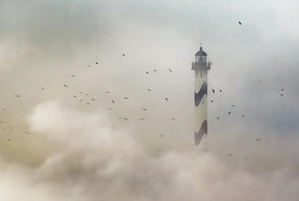 28个世界上久经考验的灯塔建筑,比利时奥斯坦德,兰格内尔灯塔