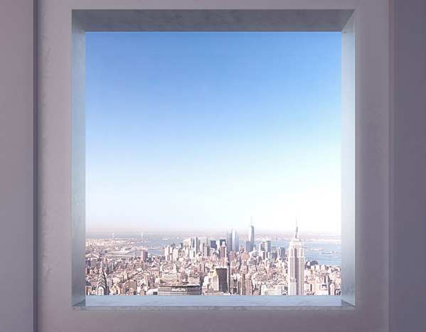 Rafael Viñoly 纽约天际线上的私人公寓4