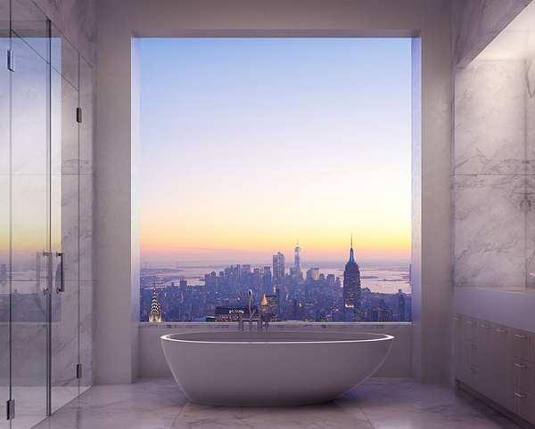 Rafael Viñoly 纽约天际线上的私人公寓5