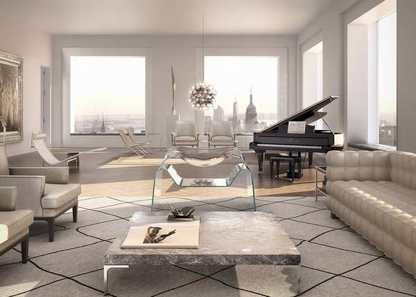 Rafael Viñoly 纽约天际线上的私人公寓6