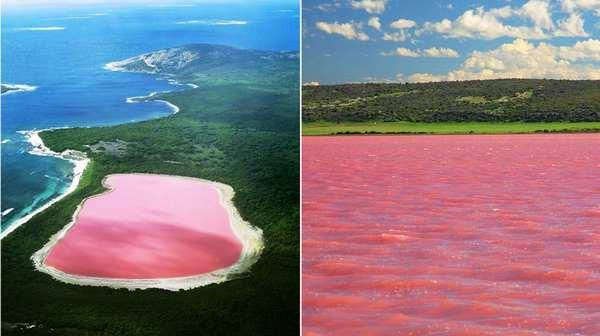 地球上秋天最美的22个风景区,澳大利亚希利尔湖