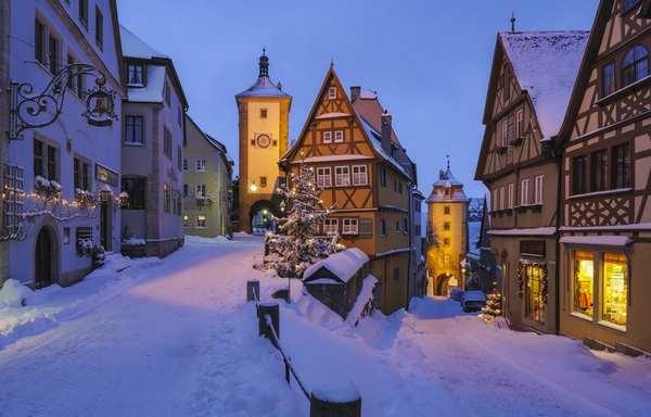 30个世界上冬天里最美丽的城镇,德国罗滕堡
