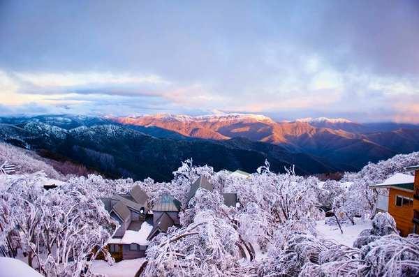 30个世界上冬天里最美丽的城镇,澳大利亚布勒山