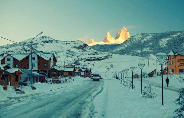30个世界上冬天里最美丽的城镇,阿根廷查尔腾镇