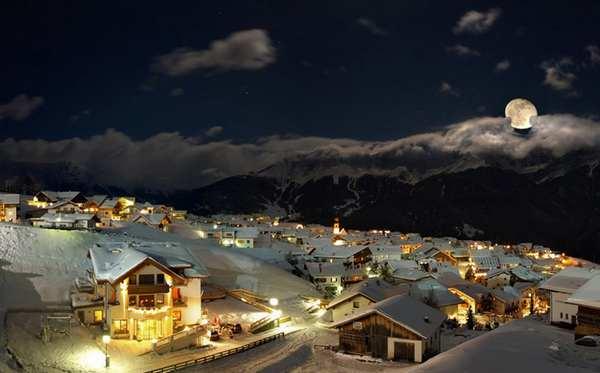 30个世界上冬天里最美丽的城镇,奥地利瑟佛斯