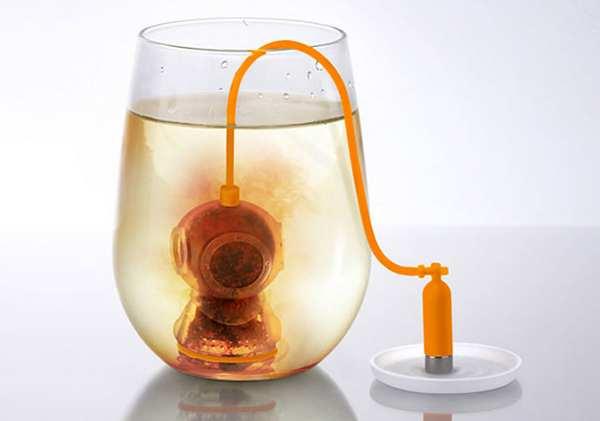 潜水员泡茶器