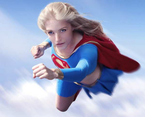 女超人cosplay