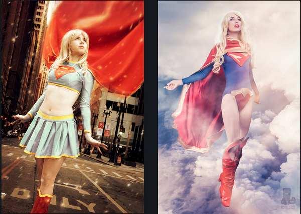 女超人姐妹cosplay3