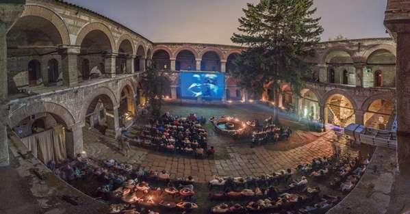 马其顿露天电影院