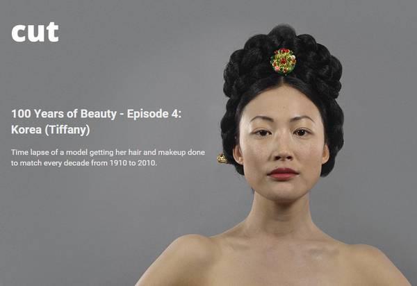 朝鲜和韩国女性美容百年变迁史