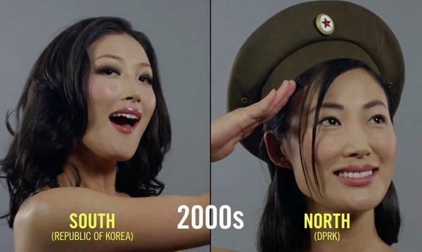 朝鲜和韩国女性美容百年变迁史2000年