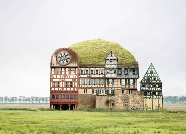 Matthias Jung 异想天开的建筑拼图艺术