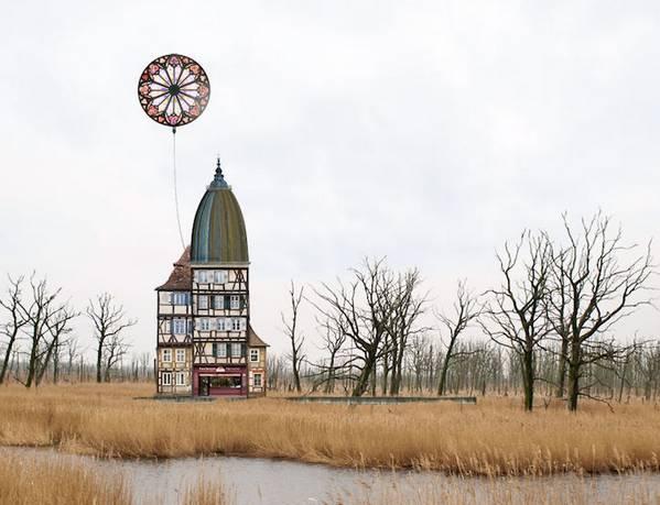 Matthias Jung 异想天开的建筑拼图艺术3