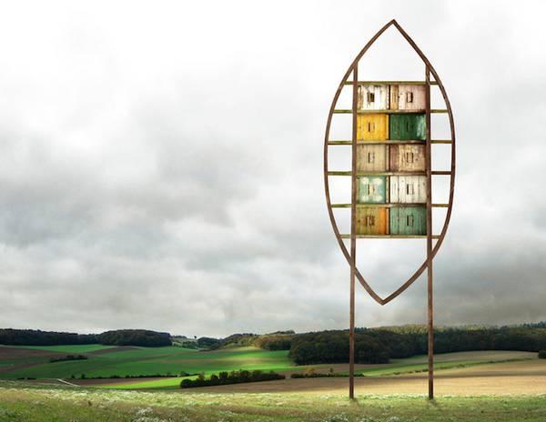 Matthias Jung 异想天开的建筑拼图艺术8