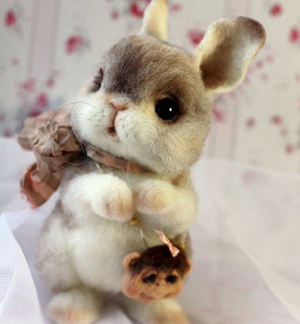 Tatiana Barakova 仿真羊绒玩具雕塑艺术7