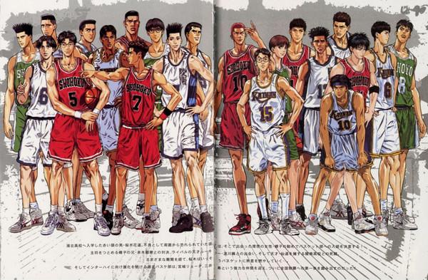 日本最具人气的20部漫画神作,灌篮高手