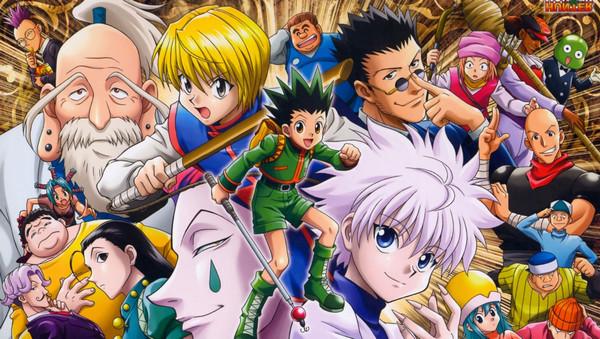 日本最具人气的20部漫画神作,猎人