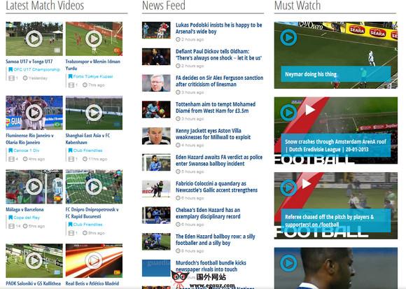 2014巴西足球世界之国外足球媒体推荐-footytube
