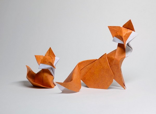 Hoang 湿折式动物折纸艺术集