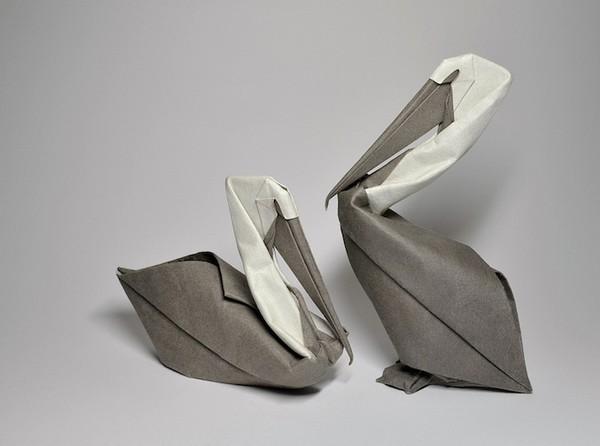 湿折式鹮折纸
