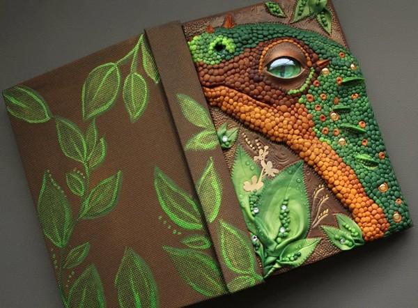 Mandarin Duck 奇幻软陶雕塑封面艺术